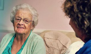 Caremark Cambridge and South Cambridgeshire Home Care Elderly Lady