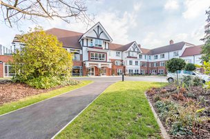 Kingsclear Nursing Home in Camberley front exterior of property