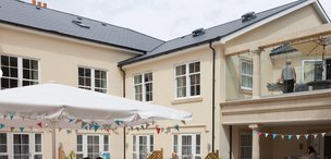 Fernhill House Care Home in Worcester Exterior