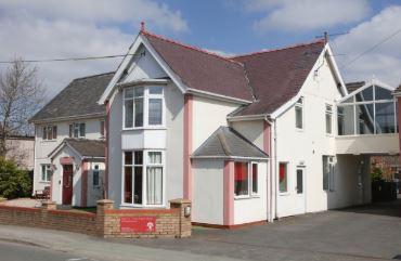 Cherry Tree Care Home in Coedpoeth Exterior