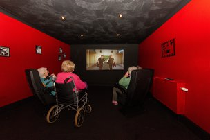 Cinema Room in South Moor Lodge