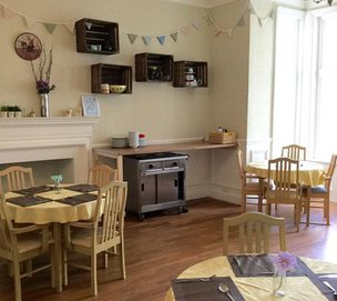 Coast Care Whitecliff Care Home Dining Room