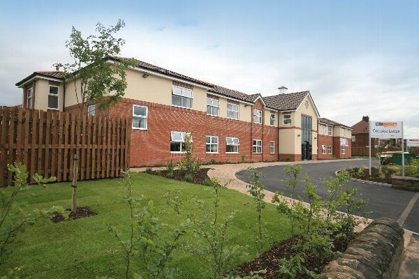 Coppice Lodge Care Home in Arnold, Nottingham Exterior