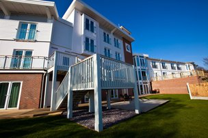 Cotman House Care Home in Felixstowe exterior of home