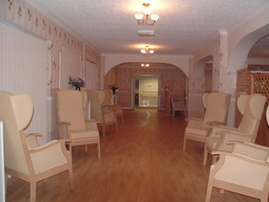 Courtfield Lodge Care Home Ormskirk Sitting Room