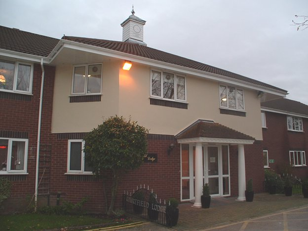 Courtfield Lodge Care Home in Ormskirk exterior of home
