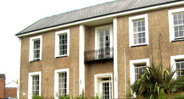 Culm Valley Nursing Home in Cullompton exterior of home