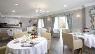 Cherry Wood Grange Care Home Chelmsford Dining Room