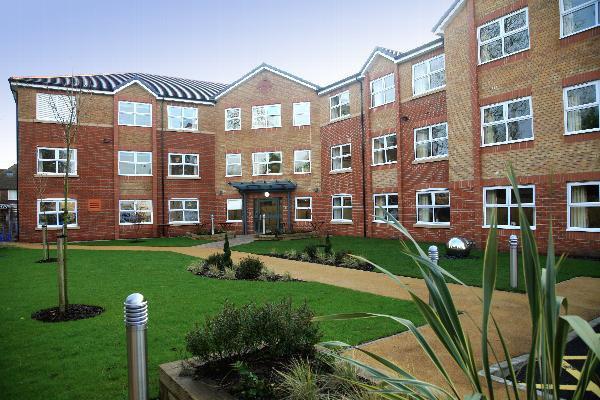 De Brook Lodge Care Home in Flixton, Manchester Exterior