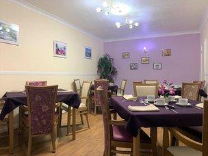 Dinning Room in Woodlands Gate