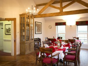 Dinning room at Tewkesbury Fields Care Home