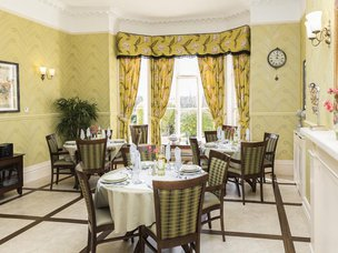 Dinning Room in The Cedars Care Home