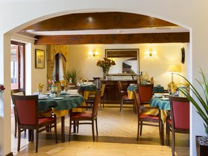 Dinning Room in Crabwall Hall Care Home