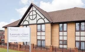 Laureate Court Nursing Home in Rotherham exterior of home