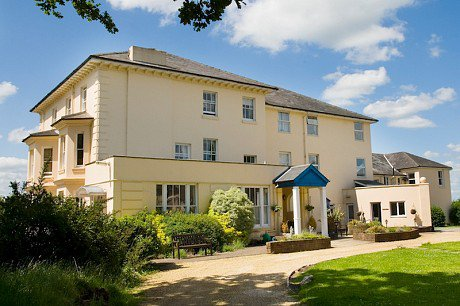 East Hill House Residential Care Home in Liss exterior of home