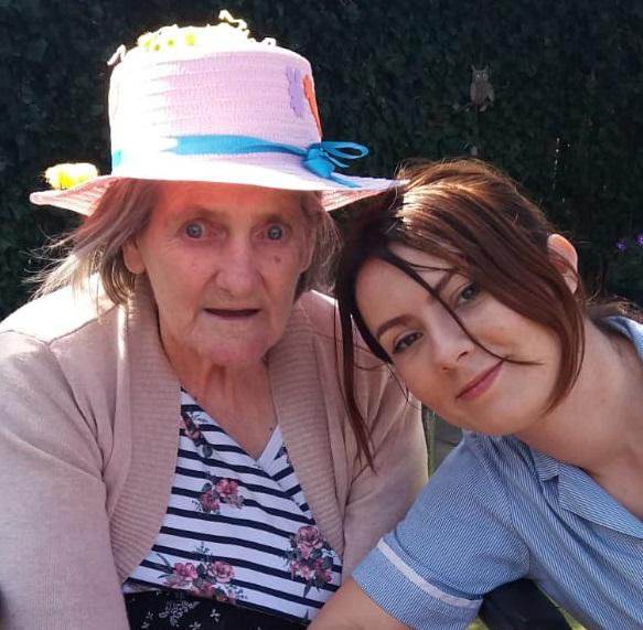 Chiltern View Care Home - Resident with Carer