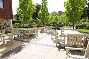 Rear Garden of Rosebery Manor