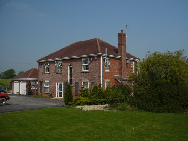 Fairfield House Care Home in Ludlow exterior of home