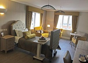 Bedroom in Fenchurch House