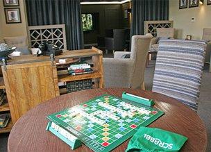 Activities room in Fenchurch House