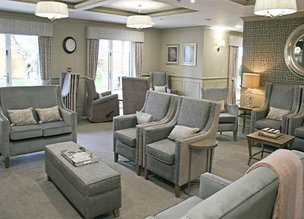 Lounge in Fenchurch House