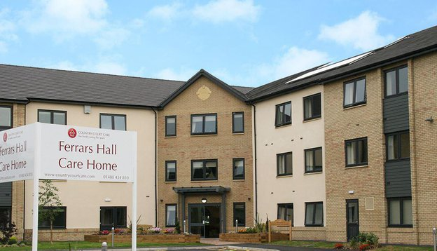Ferrars Hall Care Home in Huntingdon