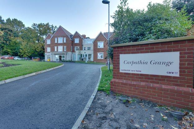Carpathia Grange Care Home in Southampton