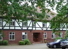Five Oaks Care Home in Hadley Wood front exterior