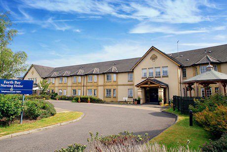 Forth Bay Nursing Home in Kincardine on Forth exterior of property