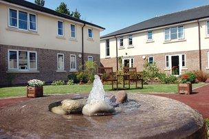 Frith House Somerset Care Garden