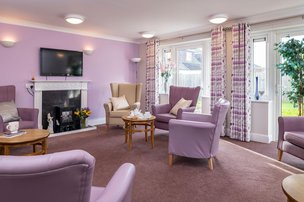Frith House Somerset Care Lounge