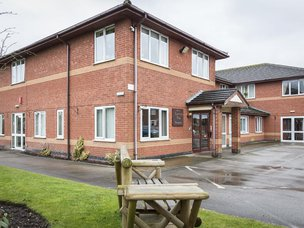 Front Exterior of Lawton Rise Care Home