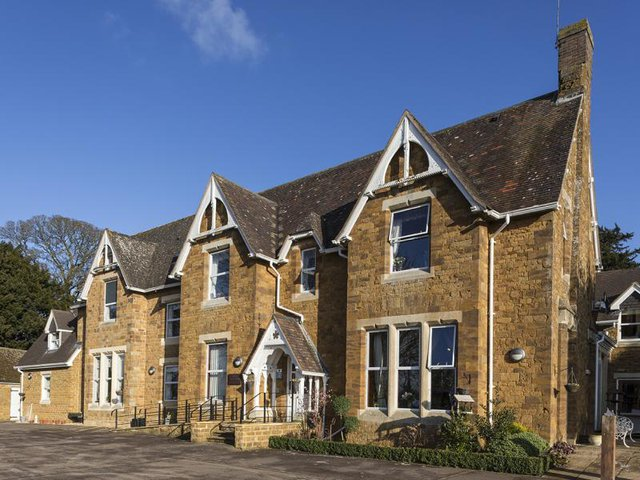 Front Exterior of Glebefields Care Home