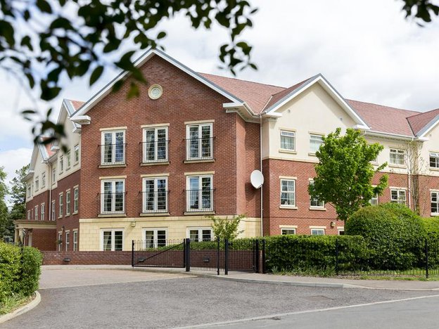 Front Exterior of Avery Lodge Care Home