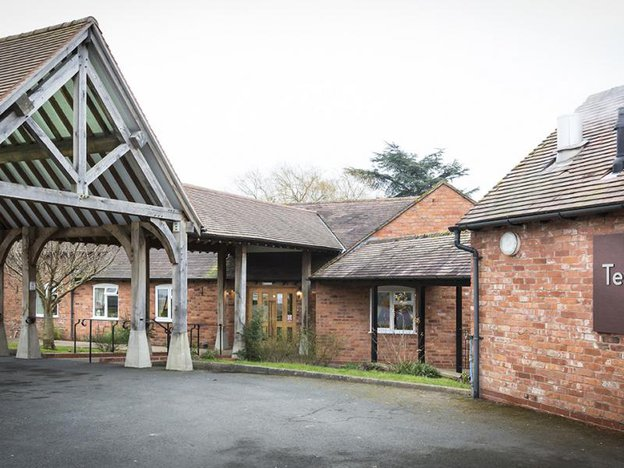 Front Exterior of Tewkesbury Fields Care Home