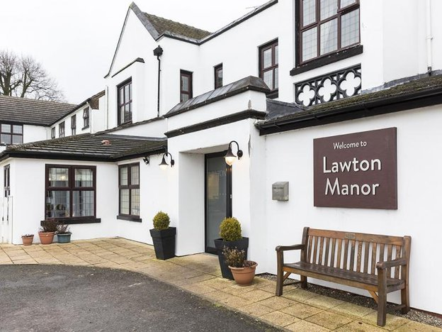 Front Exterior of Lawton Manor Care Home