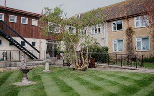 Agincare Gainsborough Care Home Garden