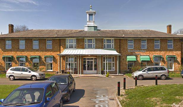Brackenbridge House Care Home in Ruislip exterior of home