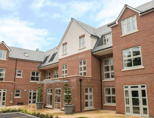 Graysford Hall Care Home in Stoneygate