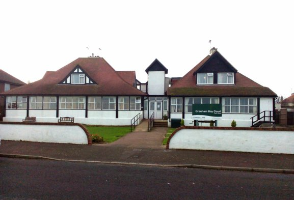 Grenham Bay Court Care Home in Kent front of home