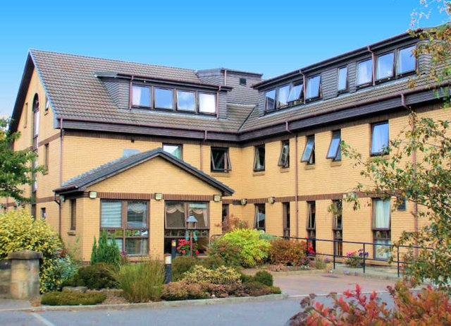 Greyfriars Care Home in Glasgow exterior of home