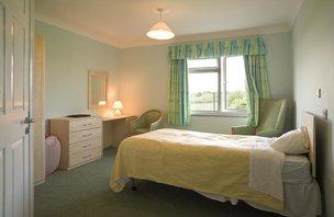 Hafan Y Waun Care Home Aberystwyth Balcony