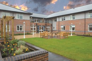 Hafan Y Waun Care Home Aberystwyth Exterior of Home