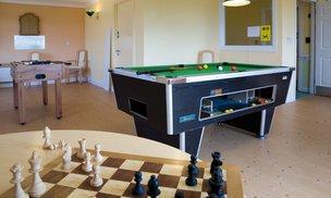 Hafan Y Waun Care Home Aberystwyth Games Room
