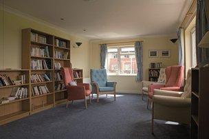 Hafan Y Waun Care Home Aberystwyth Lounge