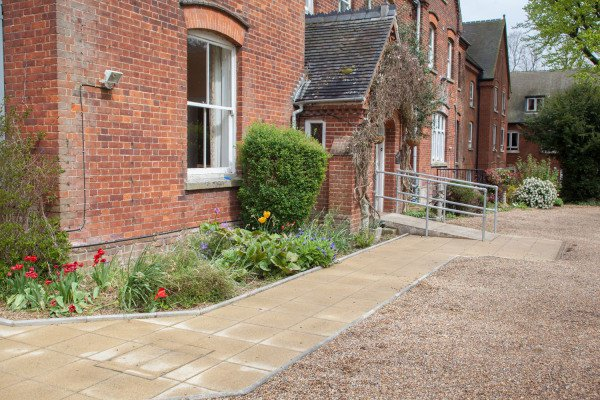 Halcyon Days Care Home in Hitchin exterior of home