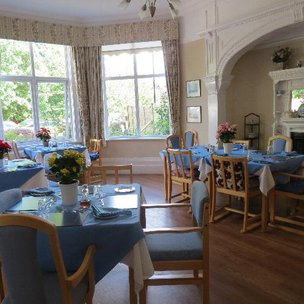 Hartfield House Care Home in Eastbourne Dining Room