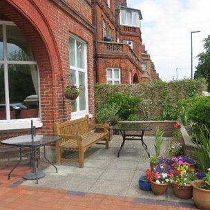 Hartfield House Care Home in Eastbourne Garden
