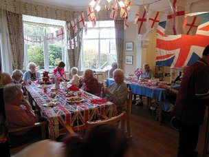 Hartfield House Care Home in Eastbourne Party
