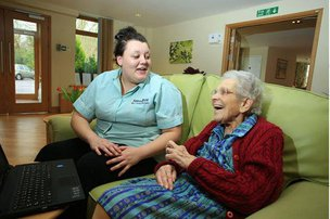 Hatch Mill Residential Home Farnham Resident & Carer